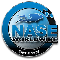 Logo for NASE - National Academy of Scuba Educators diving certification agency