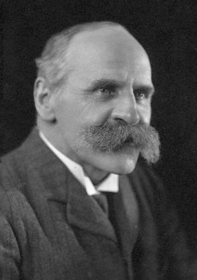 1910 Portrait photo of John Scott Haldane