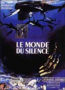 Original Film Poster of The Silent World - Le monde du silence