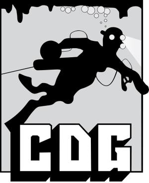 Logo of the Cave Diving Group - CDG