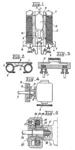 Commeinhes diving apparatus patent drawings