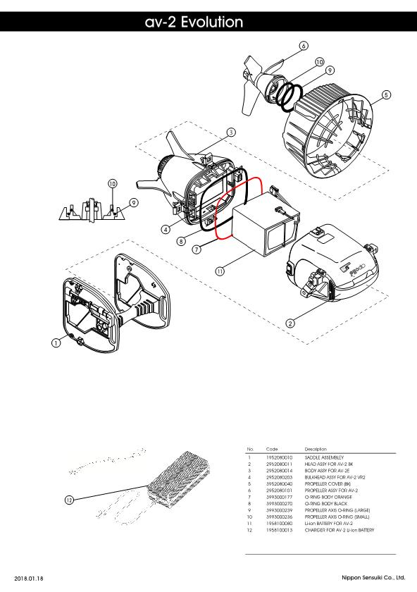 Apollo – AV-2 Evolution – Scooter – Schematic – 2017 – EN