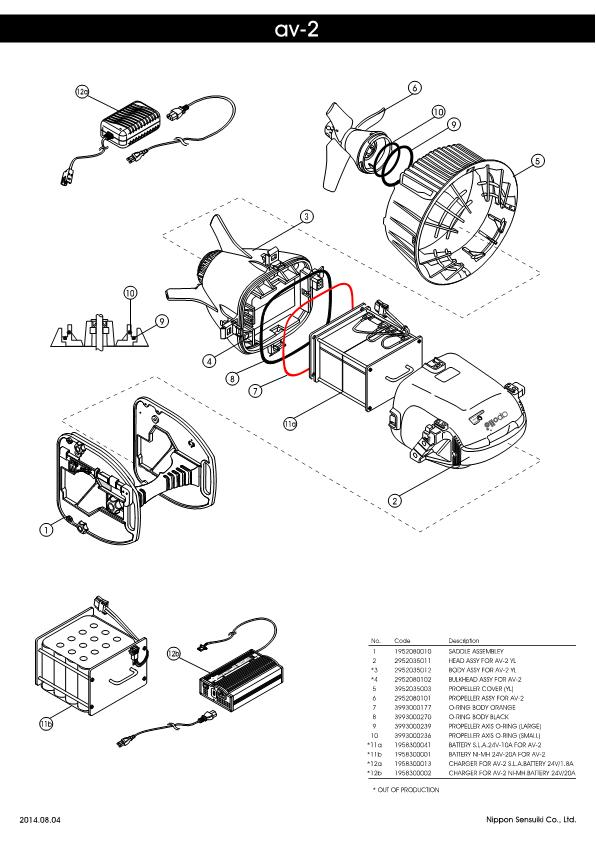 Apollo – AV-2 before 05 – Scooter- Schematic – 2014 – EN