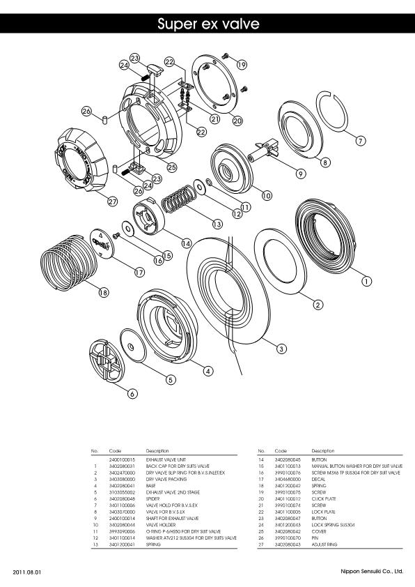 Apollo – Super EX Valve – Valve – Schematic – 2011 – EN