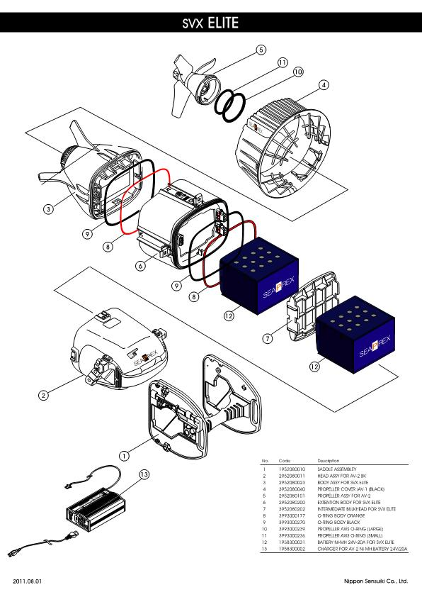 Apollo – SVX Elite – Scooter – Schematic – 2011 – EN