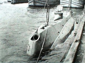 USS Holland The first commissioned submarine
