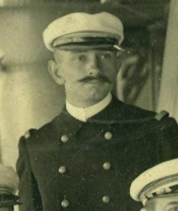 Portait photo of Louis De Corlieu Lieutenant Commander in the French Navy