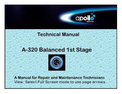 Apollo – A-320 – First Stage Regulator – Technical Manual – EN
