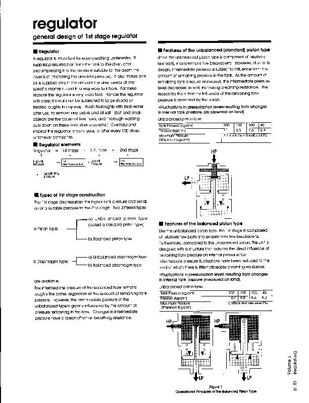 Apollo – Regulator general info first and second stages – Regulator – Manual – EN