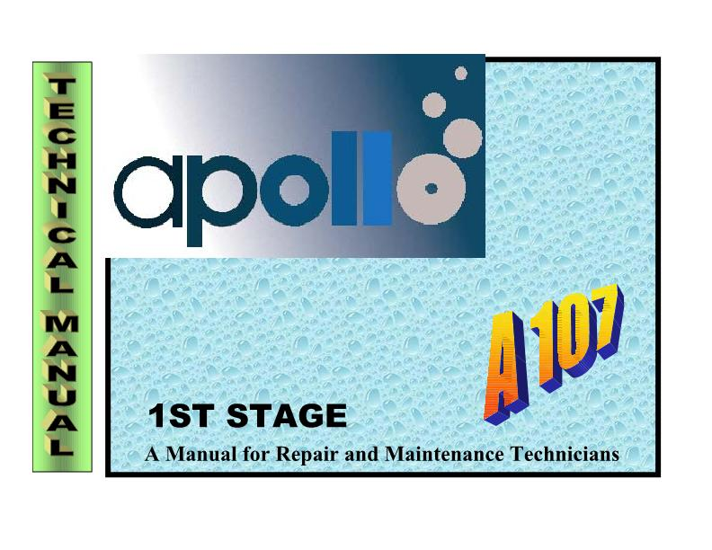 Apollo – A107 – First Stage Regulator – Technical Manual – EN